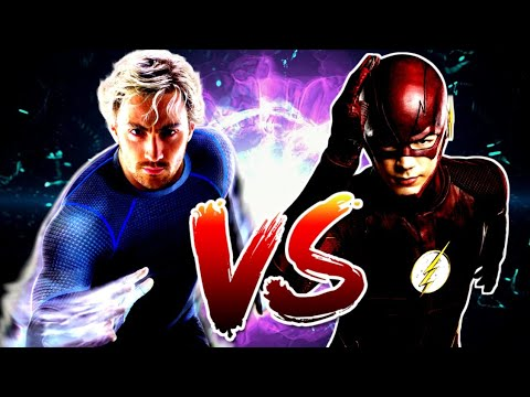 Quicksilver vs The Flash-Epicas Batallas De Rap De X // AlotronX ft.Lezek