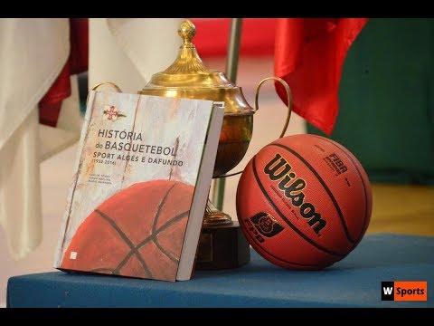 Apresentação do livro a História do Basquetebol no Algés