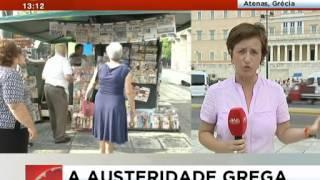 Os gregos não querem voltar ao dracma