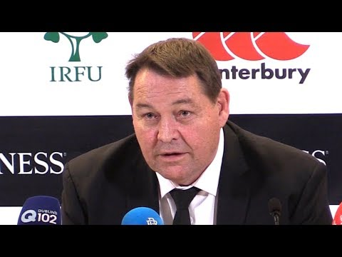 Ireland v New Zealand - Steve Hansen & Kieran Read Post Match Press Conference