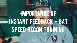 Bat Speed Training | The importance of instant feedback