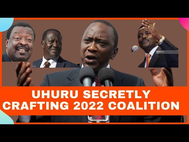 Uhuru Kenyatta Secretly Crafting Coalition to handover Power To Raila Odinga and One Kenya Alliance
