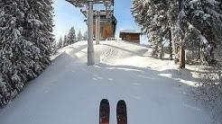 150cm de neige, enfin ! ski 29 01 2019 St Gervais Mont Blanc Wedze Freeride 500 2019