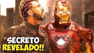 Aquí Se esconde Capitán América antes de la Guerra del Infinito!!-InfinityWar