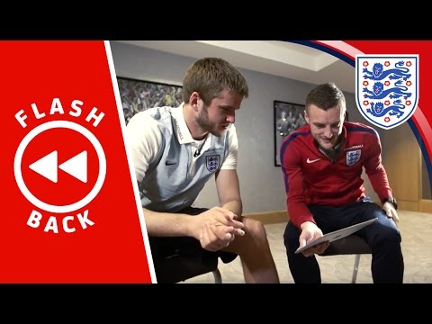 Dier & Vardy watch back England's 3-2 Germany win | FLASHBACK