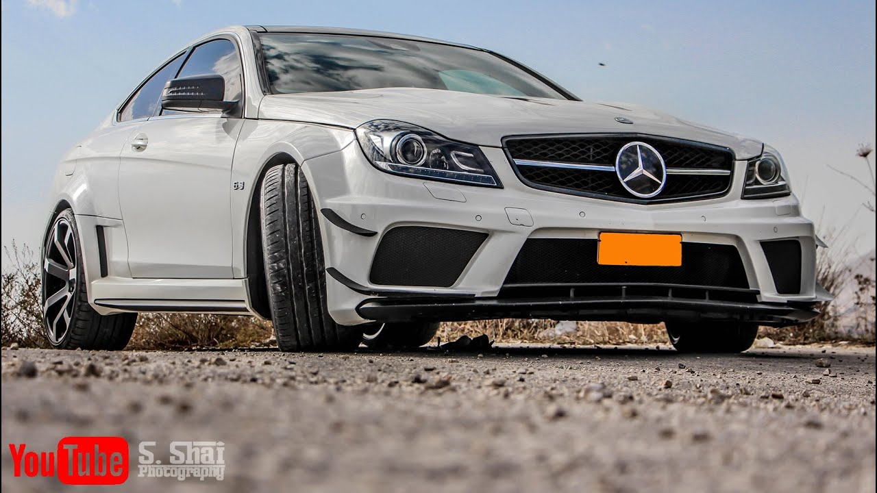 Mercedes benz c350 coupe amg black series kit youtube for Mercedes benz sports coupe
