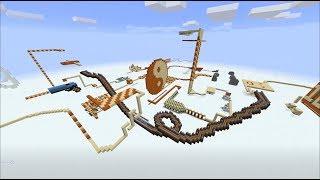 Domino in minecraft Part 3