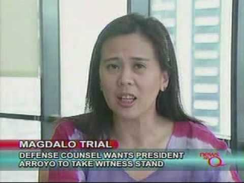 Defense lawyer of Senator Trillanes wants Arroyo