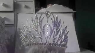 Тиара за коса с белгийски кристали - Queen of All от Absoluterose.com