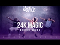 24K Magic - Bruno Mars - Choreography - FitDance Life video & mp3