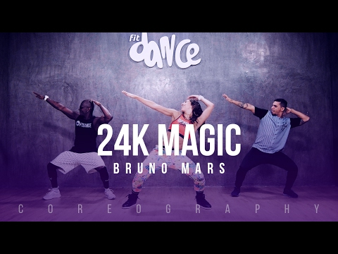 24K Magic - Bruno Mars - Choreography -...