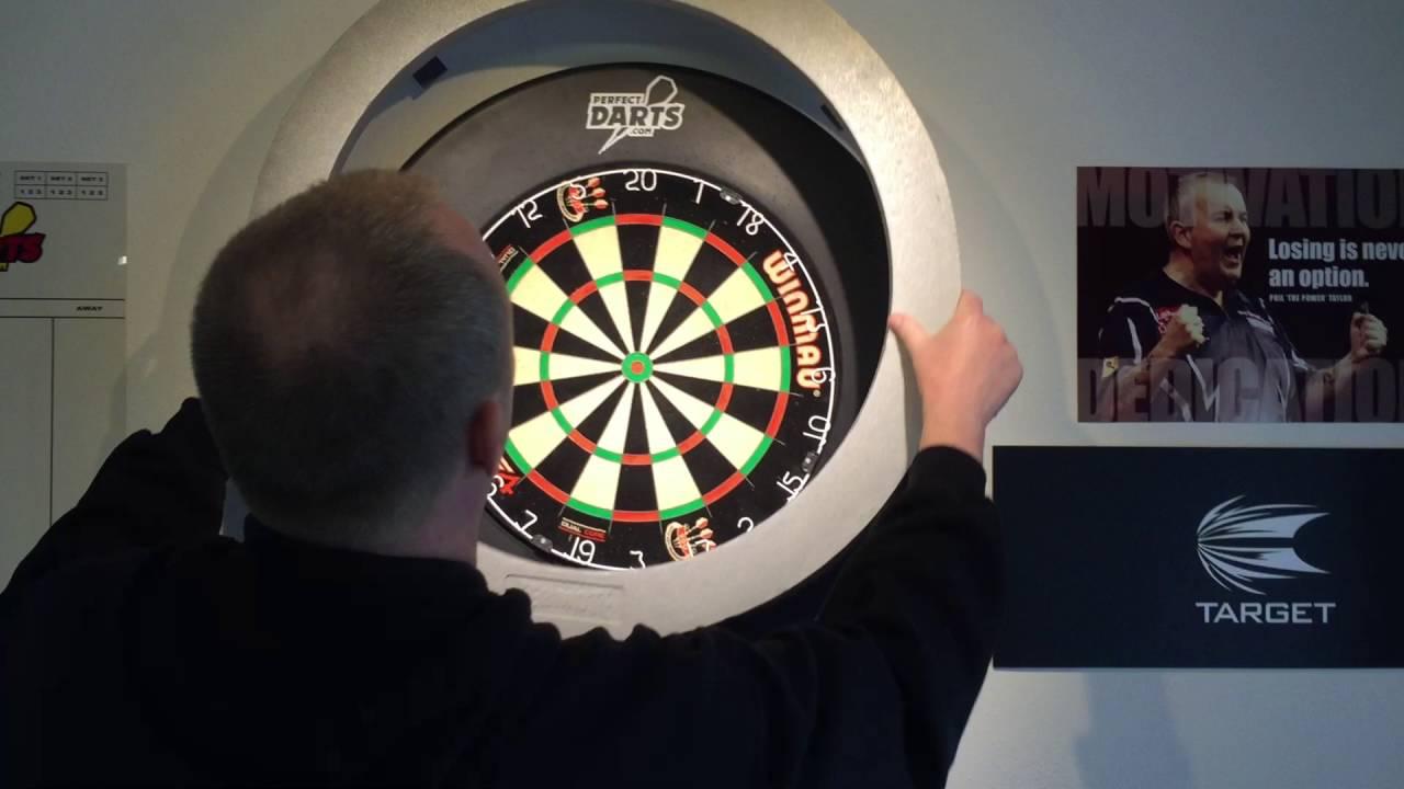 & Bulls Termote Dartboard Lighting System for Dart Players - YouTube azcodes.com