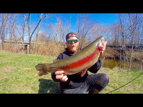 Early Trout Fishing NJ 2020