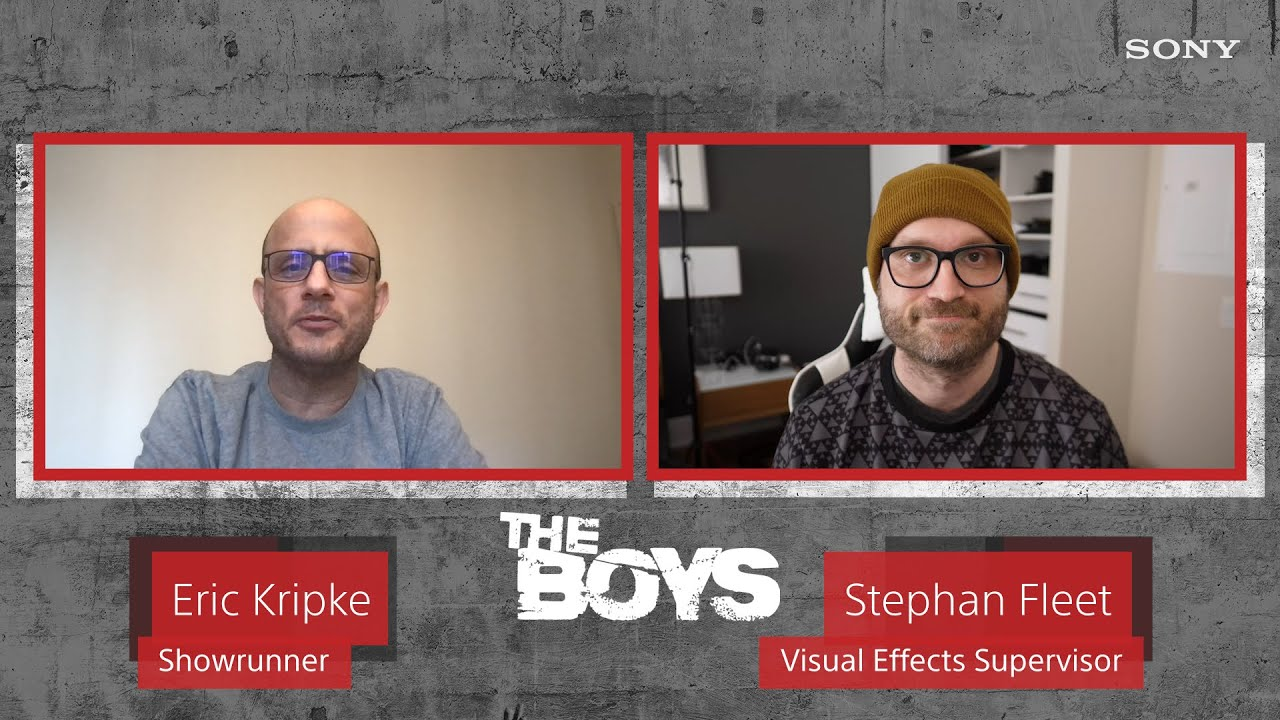 """The Boys"" Eric Kripke & Stephan Fleet Talk About Making the Show's VFX | Creator to Creator"