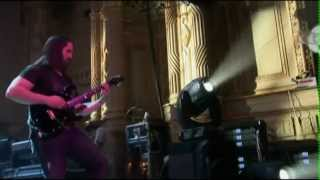 from the DVD - Chaos In Motion mr. John Petrucci summoning the gate...