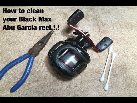 Cleaning your Black Max Abu Garcia reel.!.!
