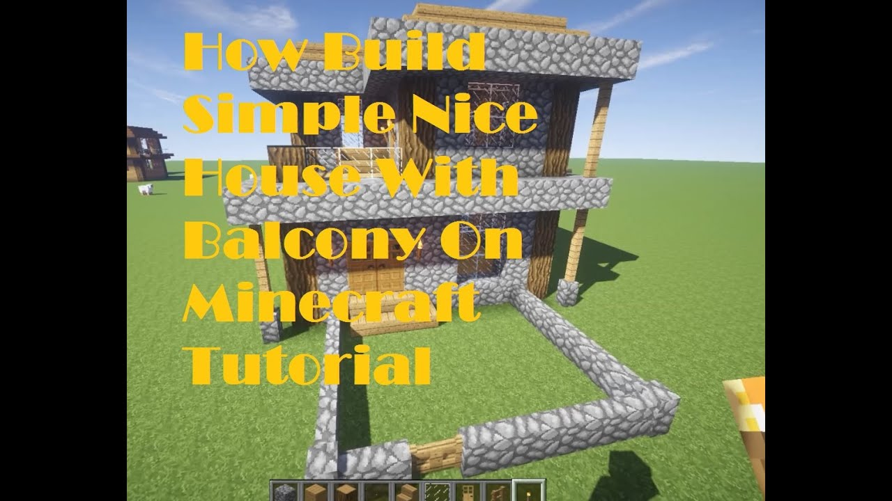 Minecraft Tutorial : How To Build Simple Nice House with ...