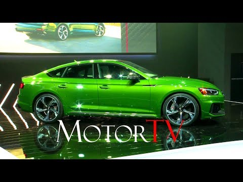 NYIAS 2018 : ALL NEW 2019 AUDI RS5 SPORTBACK l WORLD PREMIERE (ENG)