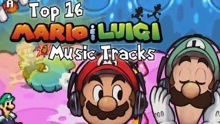 Top 16 Mario & Luigi Music Tracks