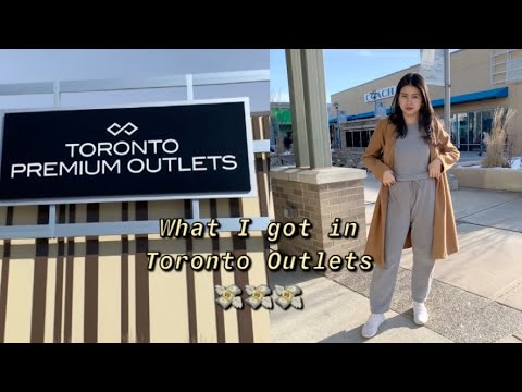 Shopping At Toronto Premium Outlets 🇨🇦 | Nicole Lures
