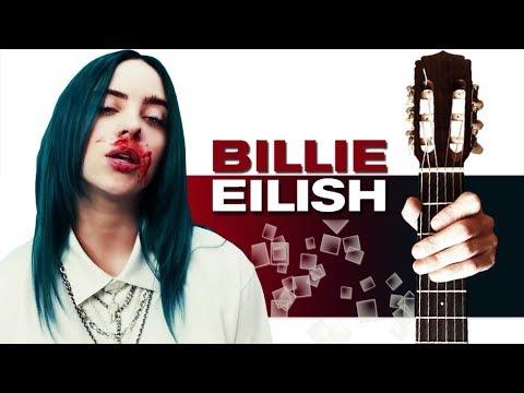 Billie Eilish - Bad Guy на Гитаре + РАЗБОР
