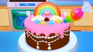 Fun Cooking Kids Game - My Bakery Empire - Baby Learn Colors, Bake, Decorate & Serve Cakes Games