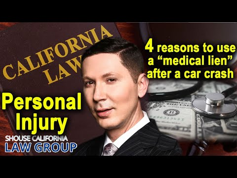 "Car accident? 4 reasons to use a ""medical lien"" rather than health insurance"