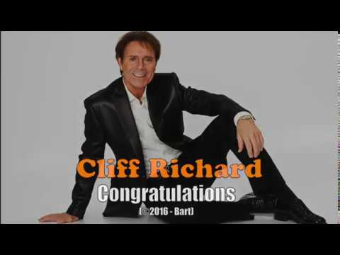 Cliff Richard - Congratulations (Karaoke)