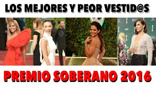 Video Mejor y Peor vestidos de Los Premios Soberano 2016 | Jerez Grupo Creativo download MP3, 3GP, MP4, WEBM, AVI, FLV Oktober 2018