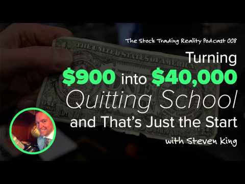 STR 008: Turning $900 into $40,000, Quitting School, and that's Just the Start‏