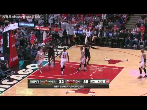 Miami Heat vs Chicago Bulls  March 9, 2014  Full Game Highlights  NBA 2013 2014 Season