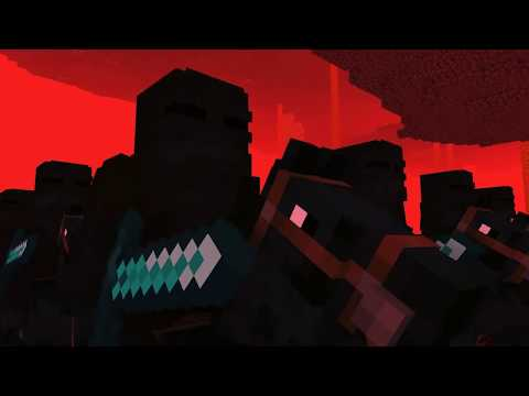 Minecraft Nether Knight Raid Killing Strangers (minecraft Animation)