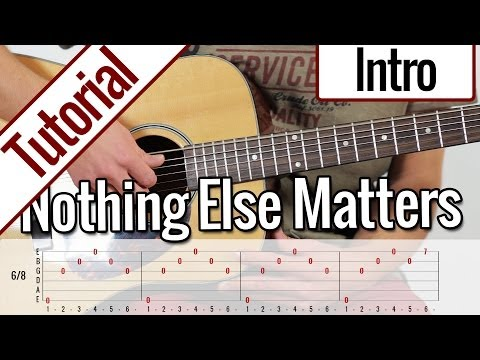 Metallica - Nothing Else Matters (Intro) | Gitarren Tutorial Deutsch