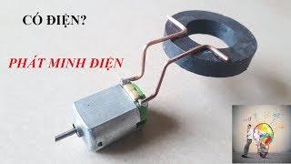 Tạo ra dòng điện từ nam châm giúp Motor quay NTN