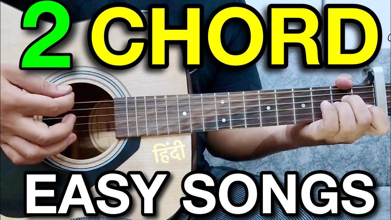 2 Chords 7 Cool Guitar Songs Mashup Lesson Bollywoodhindi Songs