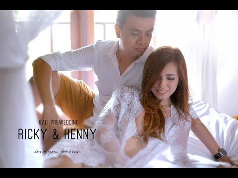 Ricky & Henny BALI PREWEDDING VIDEO