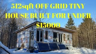 AMAZING OFF GRID BUILD!!! ON A BUDGET!!!