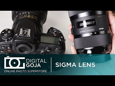 Nikon D500: Sigma Lenses for Nikon | Compatibility Video