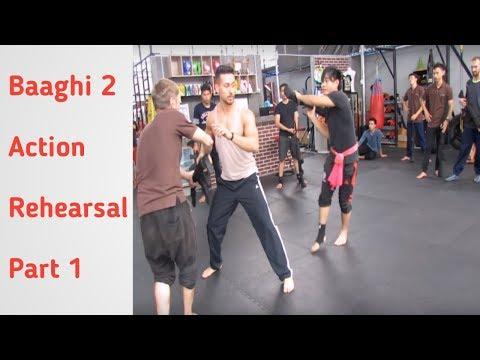 Baaghi2 Action rehearsal part1 Tiger shroff , Disha Patani and TEAMTIGER Mp3
