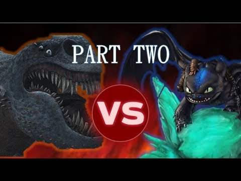 Download Youtube: Alpha Night Fury vs Red Death PART TWO [Dragon Tournament #6]