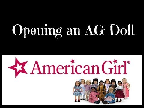 Opening An American Girl Doll