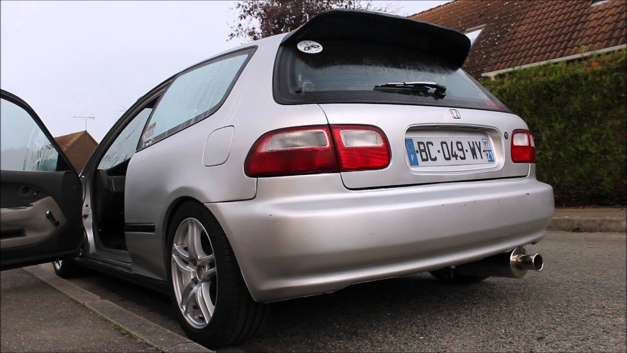 Honda Civic EG4 VEI Sound - YouTube