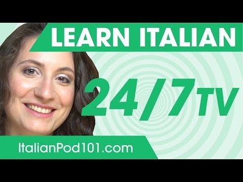 Learn Italian in 24 Hours with ItalianPod101 TV