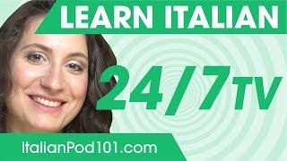 Learn Italian in 24 Hours with ItalianPod101 TV