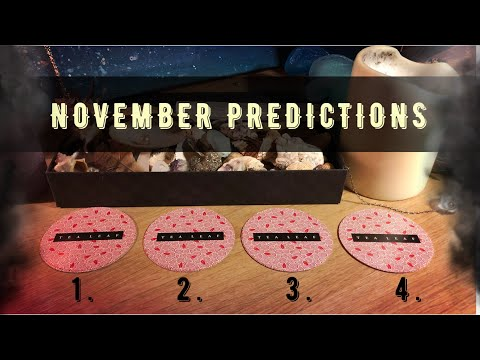 Pick A Card - November Predictions