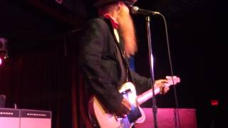 Moving Sidewalks featuring Billy Gibbons - Flashback - BB Kings NYC - 3-30-13