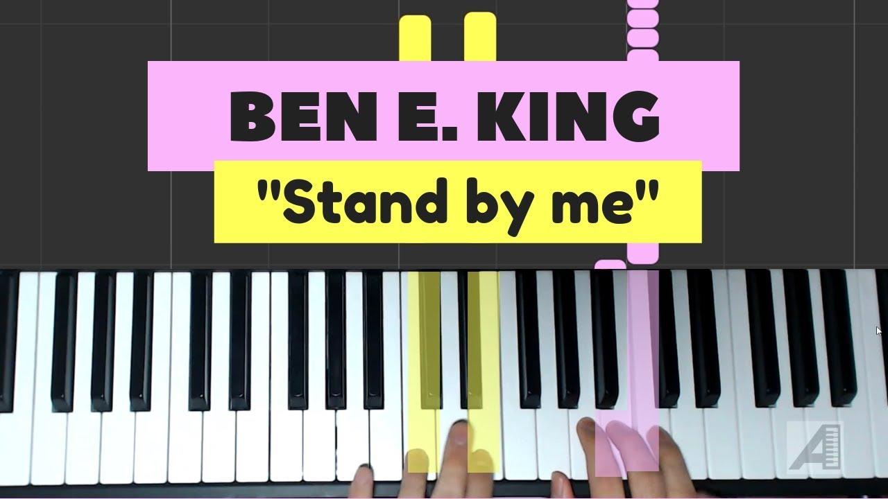 """Cómo tocar """"Stand by me"""" en piano (versión fácil) - YouTube"""