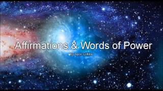 Affirmations & Words of Power