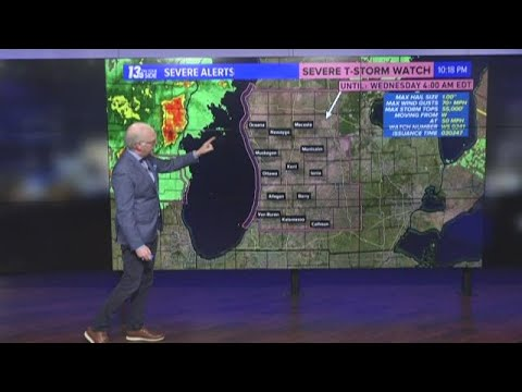 Risk For Severe Weather In West Michigan