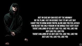 NF - JUST LIKE YOU (Lyrics)